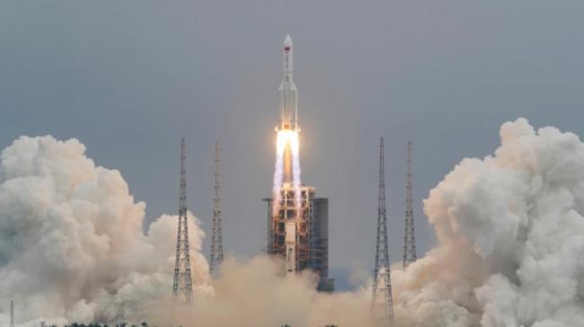 中國火箭殘骸即將失控墜落