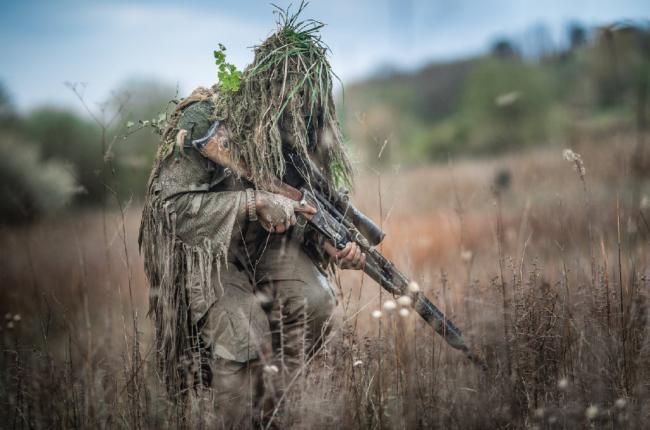 法国狙击手FR狙击步枪用到天荒地老