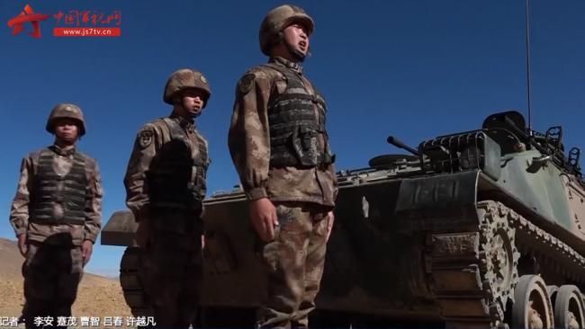 西藏军区某合成旅海拔4700米实射实爆