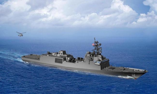 """美媒披露美军下一代护卫舰进展 暗指LCS是场""""惨败"""""""