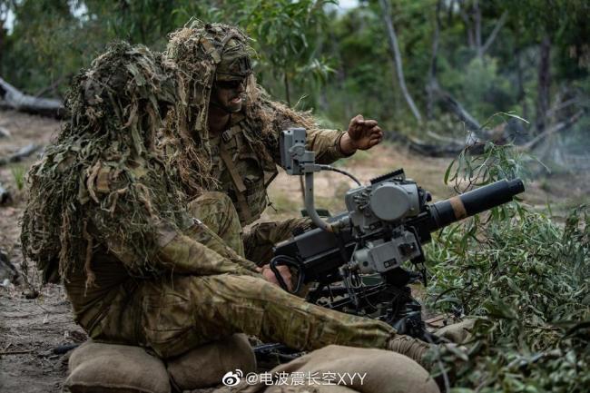 澳大利亚陆军丛林战演练