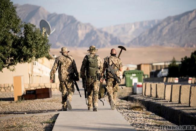 驻阿富汗德军按计划逐步撤离 拆掉纪念碑运回国