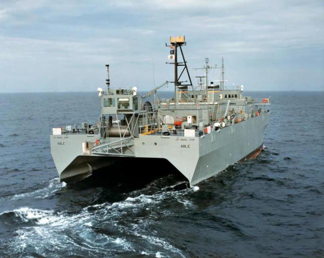 这艘美国船只秘密侦查西沙一个月 威胁比战舰大得多