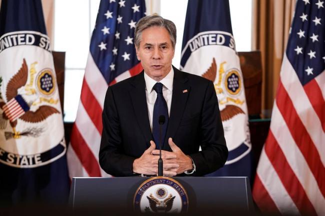 布林肯:中国若在南海攻击菲律宾 会采取行动