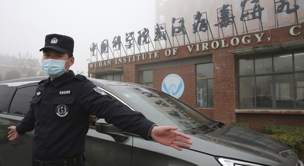 ▲▼WHO專家曾在今年2月造訪武漢實驗室進行調查。(圖/達志影像/美聯社)