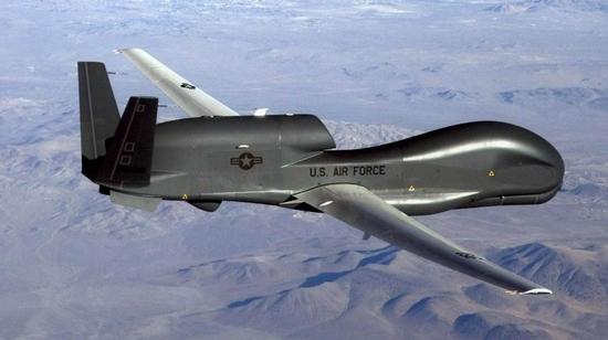 美将退役20架全球鹰无人机 美媒:难以应对大国对抗