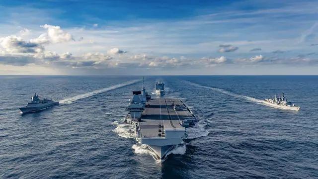 中国国防部警告英航母:中国将用一切必要手段应对