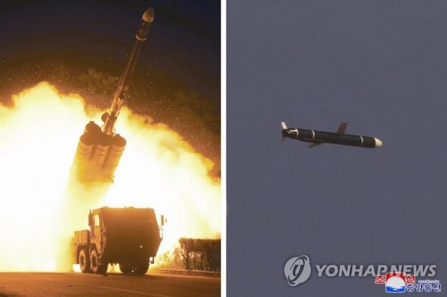 朝鲜成功试射新型巡航导弹 射程1500公里
