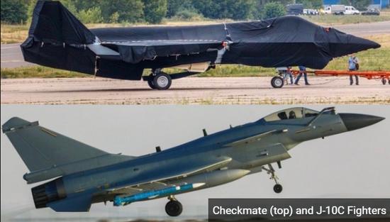 """谁对西方威胁更大?美媒对比俄""""将军""""战机与歼10C"""