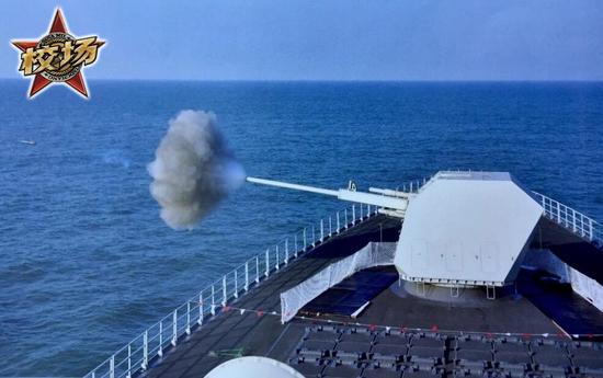 驱逐舰为何不装备比坦克大得多的舰炮?