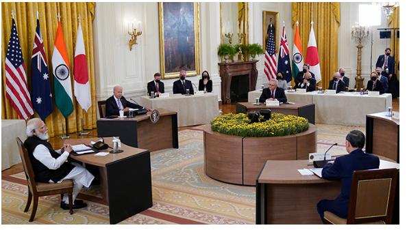 北京腹背受敌,首次Quad四方伙伴峰会举行