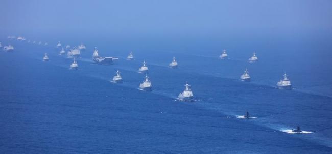 台媒:解放军今日上午开始实弹演习 距金门60公里