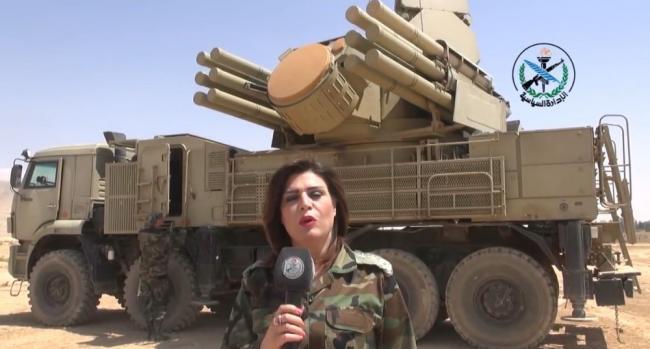 叙利亚秀肌肉 展示自己的防空武器