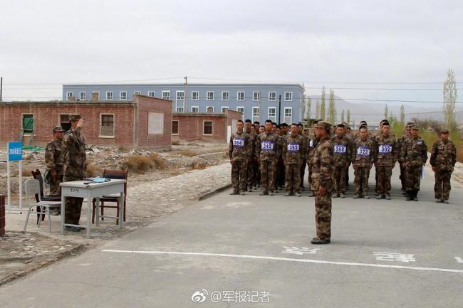 新疆军区某师阶段性考核考风焕然一新