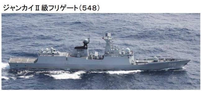 战舰三次进出宫古海峡均遭日本尾随