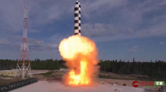 从运输装填到发射近距离感受俄新核大棒试射
