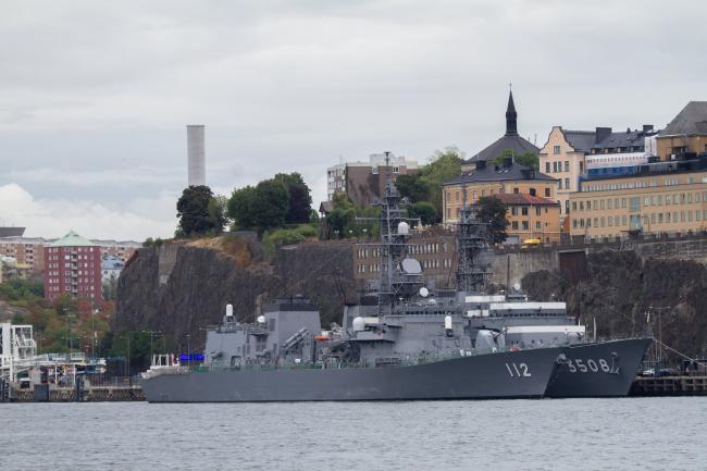 战败73周年当天日本炫耀舰队远航北欧