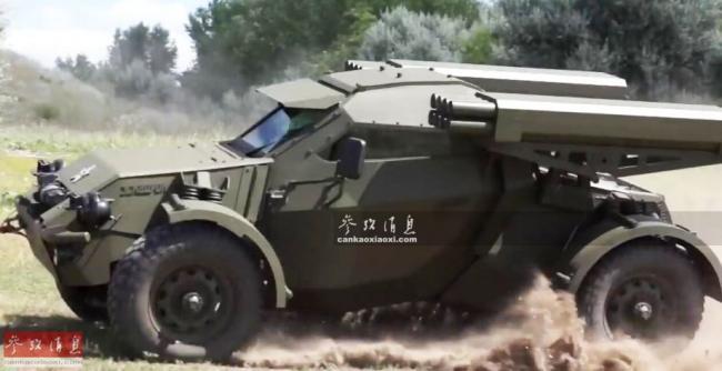 時速150公里還打坦克!俄研特種突擊車
