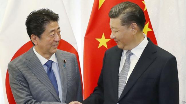 從中國的對手變為友人?安倍華麗轉身了