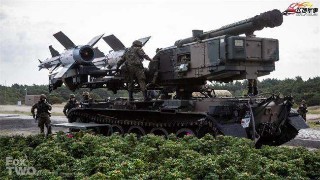 波兰空军防空部队进行导弹实弹射击演习