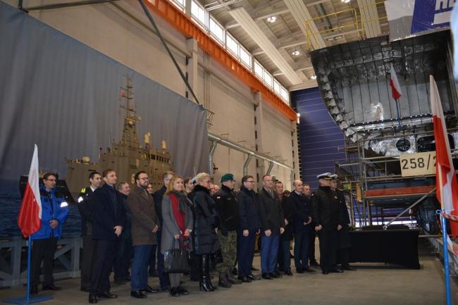 波兰新一代扫雷艇项目奠基