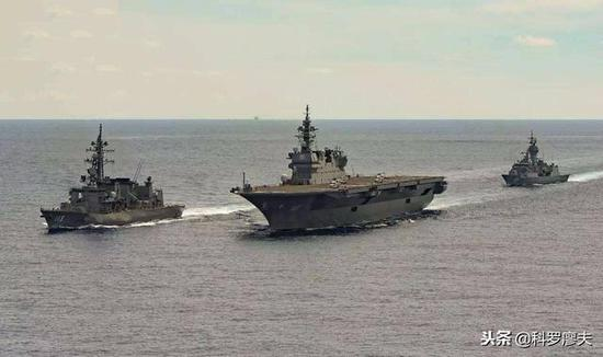 日本打造航空母舰企图终曝光 F-35将成舰载机首选