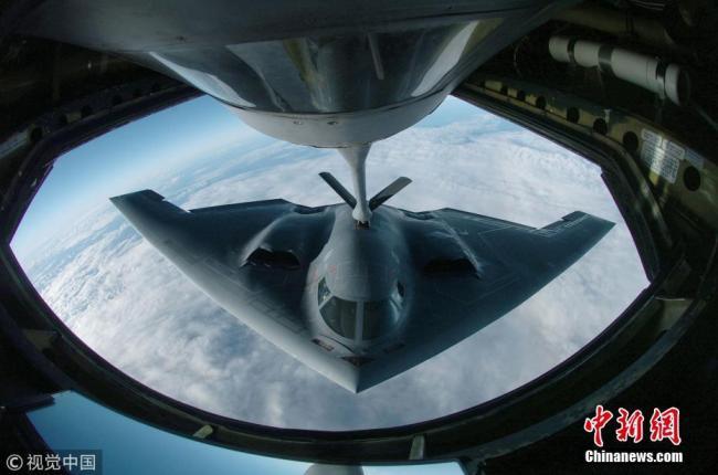 美空军杂志评出年度最佳照片 张张都是大片