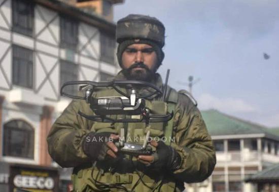 嘴上喊威胁却爱不释手:两款中国造无人机现身印军