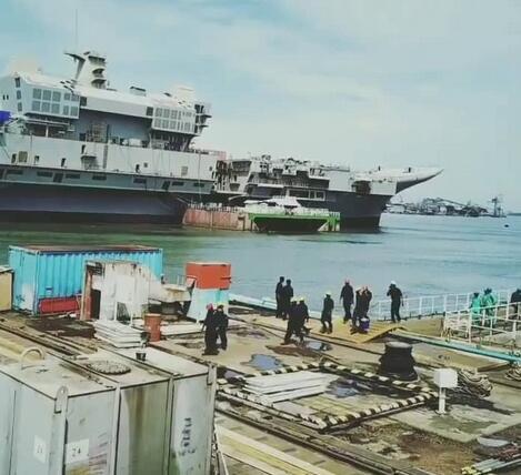 印度自研航母建造状态曝光几乎没有更新进展