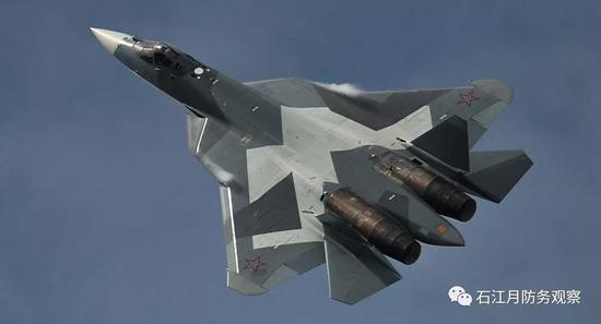 俄媒:俄军苏57战机已超越F22和F35 更不用说歼20