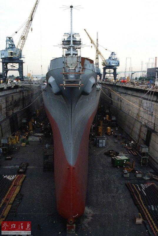 巨舰夕影!看美如何改装依阿华级战列舰