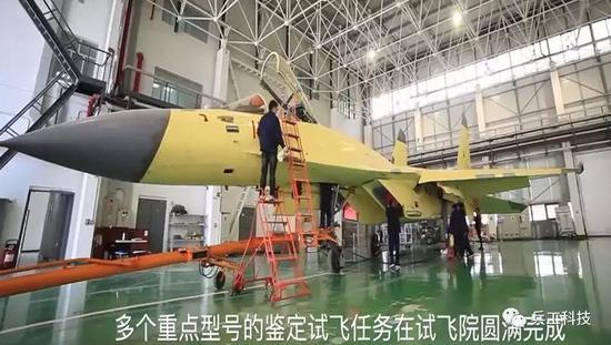 中国歼11D或配WS10B发动机 推力比苏35还高
