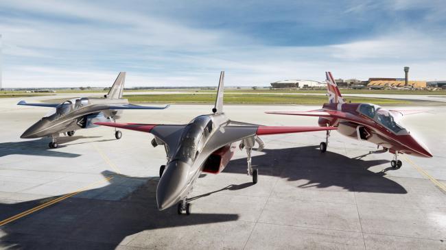 英国研发新型教练机 机首造型似苏-27