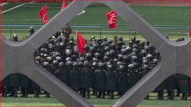 香港情势吃紧 新疆反恐力度得以舒缓
