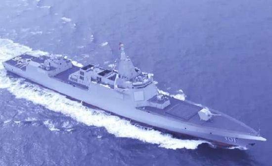 中国第5艘055万吨大驱下水 今年还下水了5艘052D