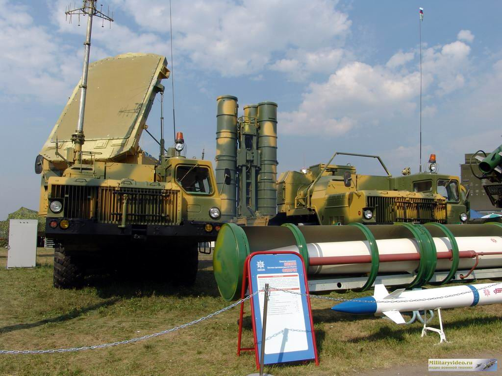 俄媒:中国最新提出购买S-400先进地空导弹 [组图文]