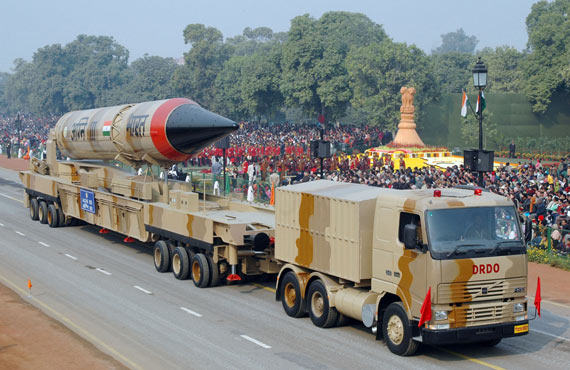 美媒披露印核战实力:烈火4射程可覆盖北京 (图)