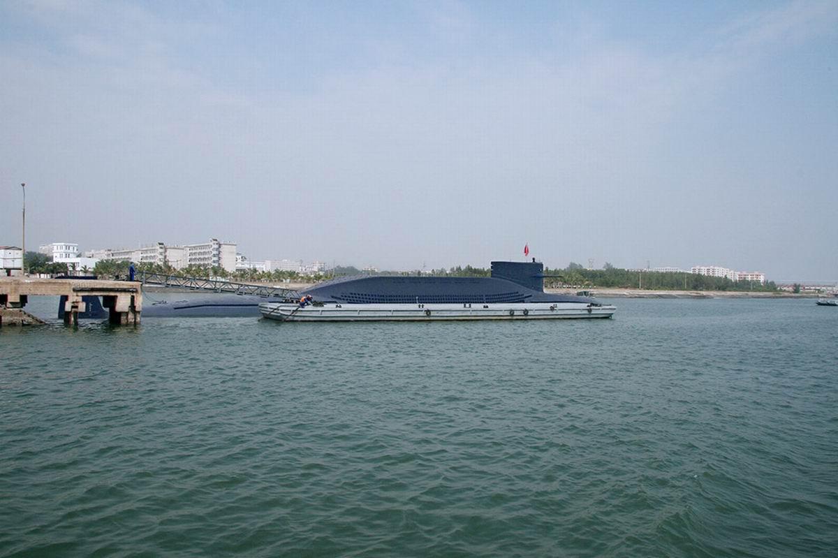 今日海军最猛图:新型战略道道核潜艇又上浮了 卫星随便看