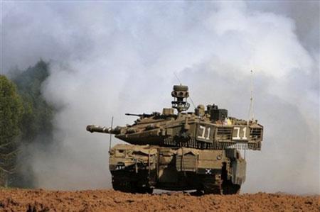 (组图)以军地面进攻打响 哈马斯2.5万战士抵抗以军坦克