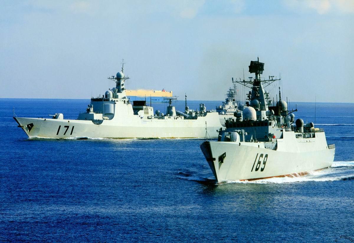 今日海军最猛组图:舰船知识200902期上的国图