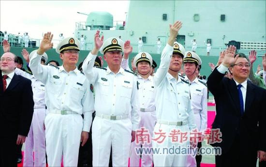 中国核潜艇长升任副总参谋长 曾破美军世界记录 [图文]