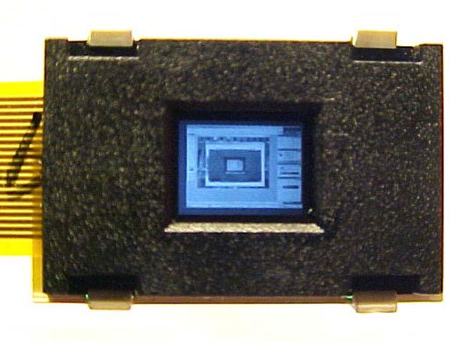 图文:Kopin公司将为美军开发世界上分辨率最高的微型显示器