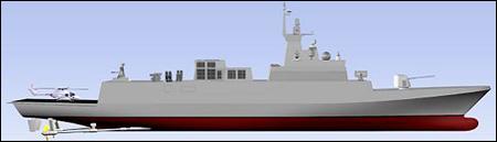 现代重工将承担首艘韩国新型护卫舰建造工作(图)