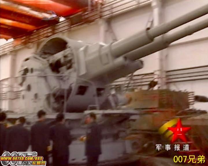 今日最猛组图:毛子会气死 偶国又在山寨俄制130毫米双联舰炮