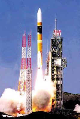 一箭载八星 日本H2A火箭第9次成功发射