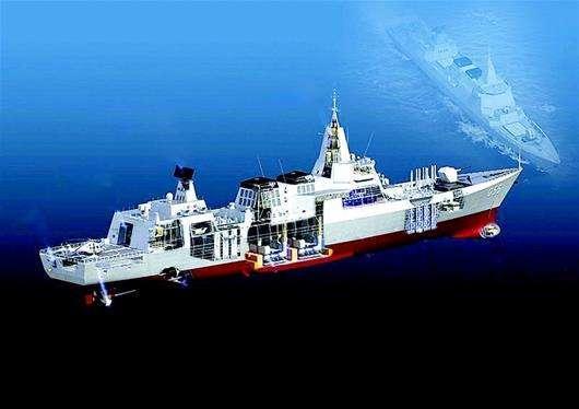 中国下代驱逐舰呼之欲出:比052D颜值高 未来造更多