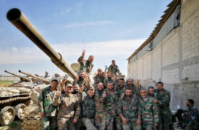 叙军收复关键失地 王牌部队继续猛攻 美计划或破产