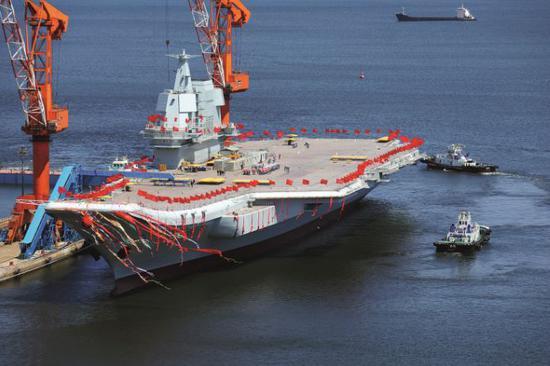 首艘国产航母到底什么水平?所有设备全产自中国