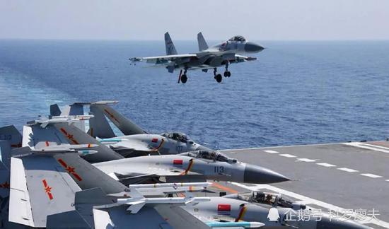 辽宁舰出海最多几天不用补给 自持力不比美军航母差