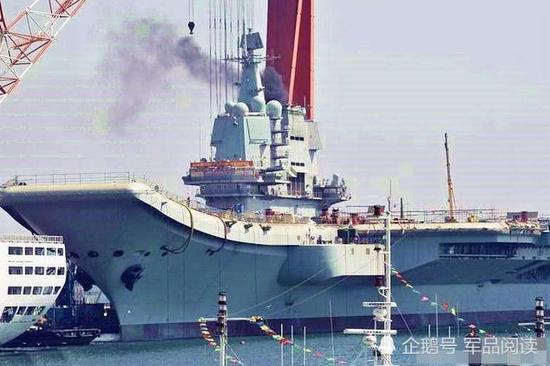 国产航母海试将分两阶段 武器等系统还有5%未完工